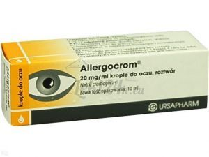 Allergocrom krop.do oczu 0,02 g/1ml 10 ml