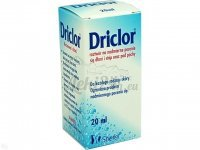 DRICLOR SOLUTION Prep. p/nadpot 20 ml